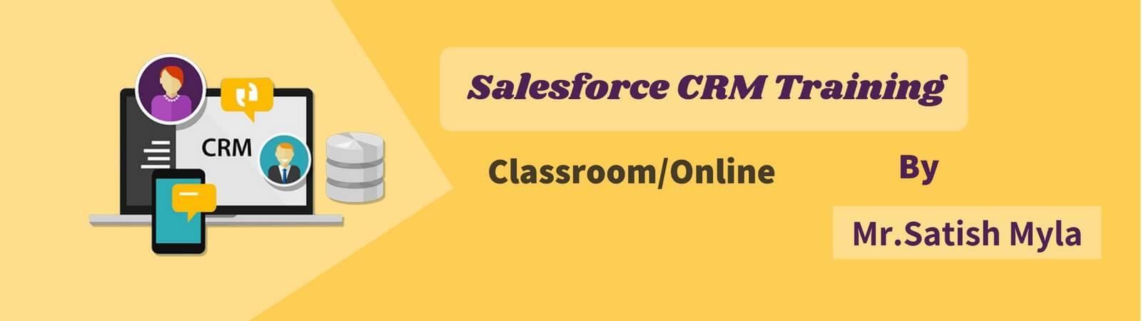 salesforce crm training