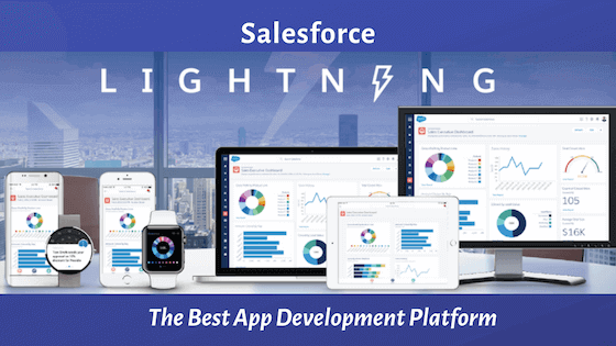 salesforce lightning best app development platform