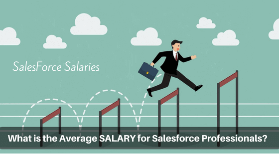 salesforce salary range for professionals