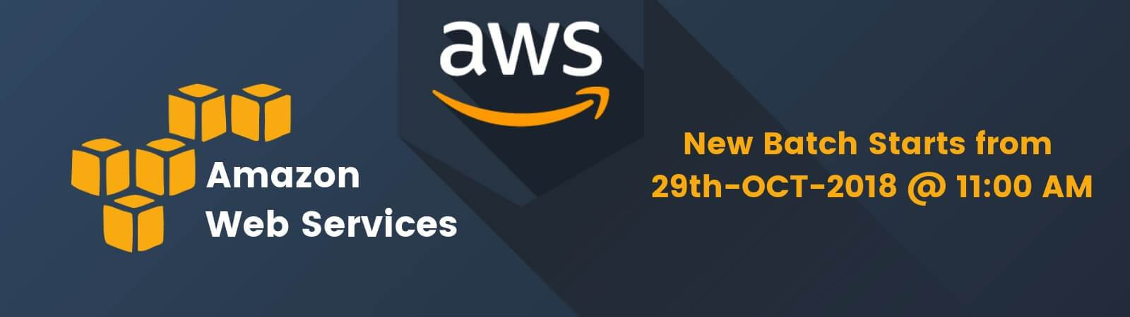 AWS New Batch 29th-OCT-2018 Banner
