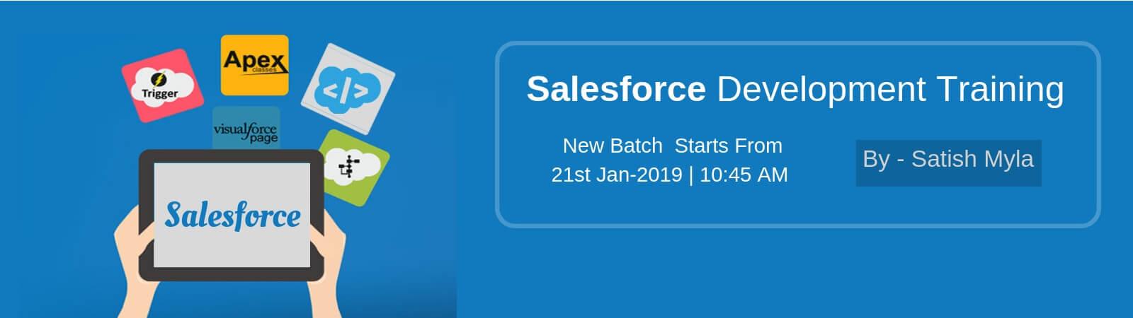 Salesforce development banner