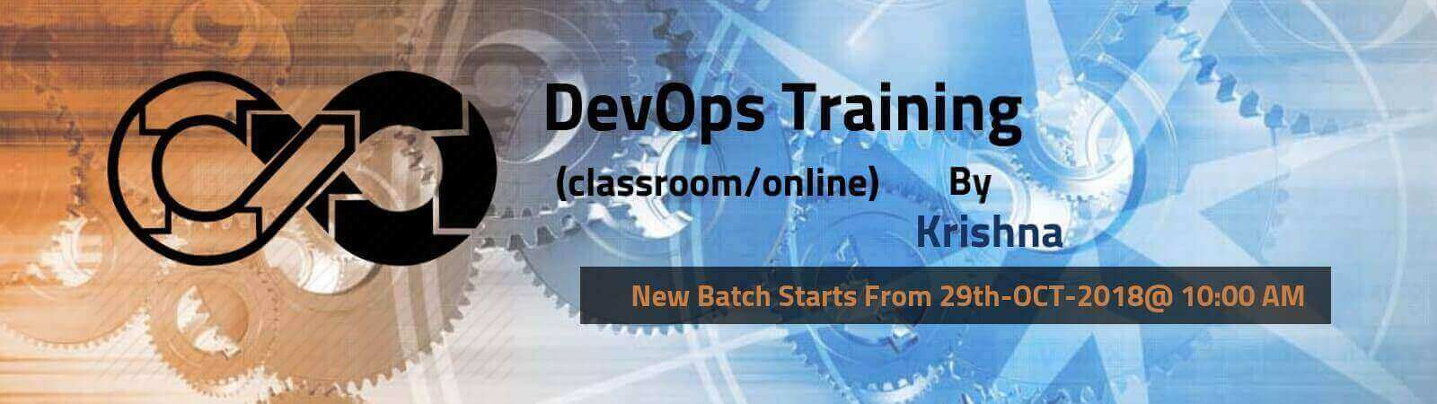 DevOps New Batch 25th-OCT-2018 Banner