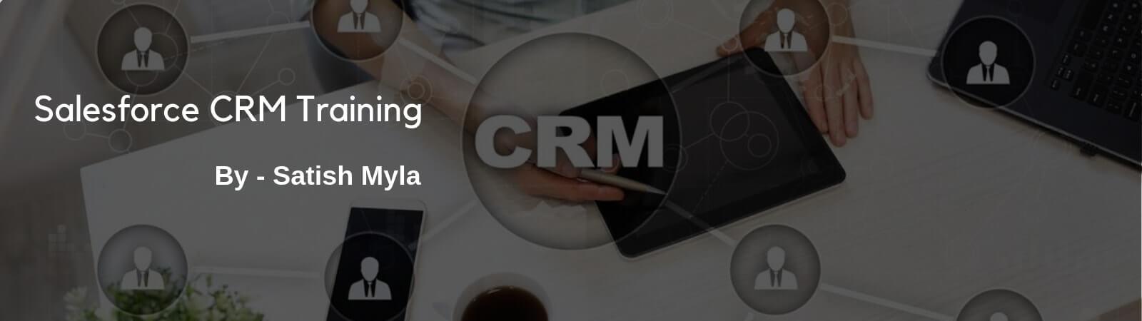 Salesforce CRM Banner
