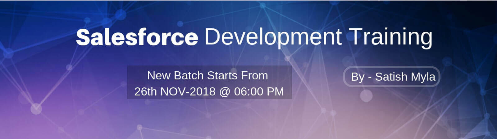 Salesforce Development Training