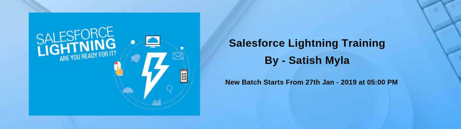 Salesforce lightning banner